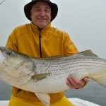 Holding Striped Bass in Foggy Weather