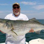 Top-water Striped Bass Catch