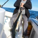 Man Holding Bluefin Tuna Catch