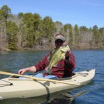 Sitting in a Kayak