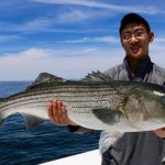 Man with Truro Striped Bass