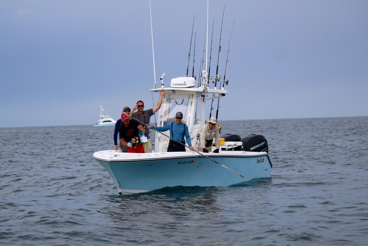 fishing for tuna in cape cod on boat reel deal fishing