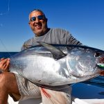 Man Holding Large Cape Cod Tuna