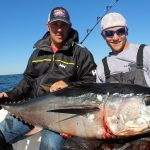 Fishers Holding Medium Cape Cod Tuna