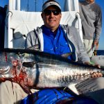 Man with Cape Cod Tuna Catch
