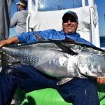 Man with Huge Cape Cod Tuna Catch