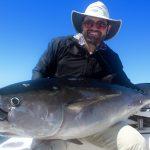 Man with Big Cape Cod Tuna Catch