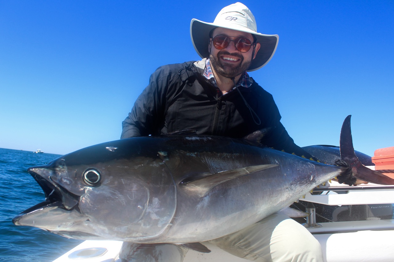 Man with big cape cod tuna catch reel deal fishing charters for Cape cod fishing charters