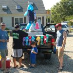 Truro 300 Parade - Reel Deal Fishing Charters Float Preparation