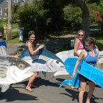 Truro 300 Parade - Women in Ronz Lures Costumes