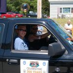 Truro 300 Parade - Two Men in a Truck Float
