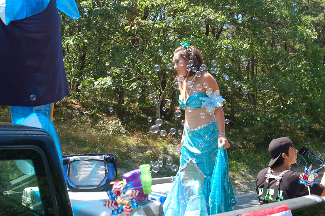 Truro 300 Parade - Mermaid with Bubbles