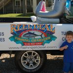 Truro 300 Parade - Child by Reel Deal Fishing Charters Float Logo