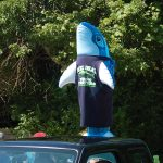 Truro 300 Parade - Inflatable Fish