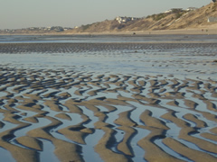 Beach Tidal Patterns