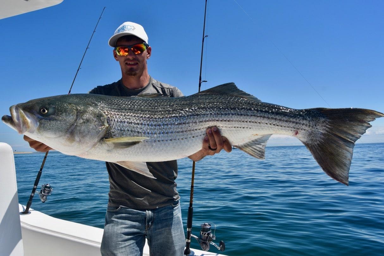 Bobby rice cape cod striped bass fishing charters for Striper fishing cape cod