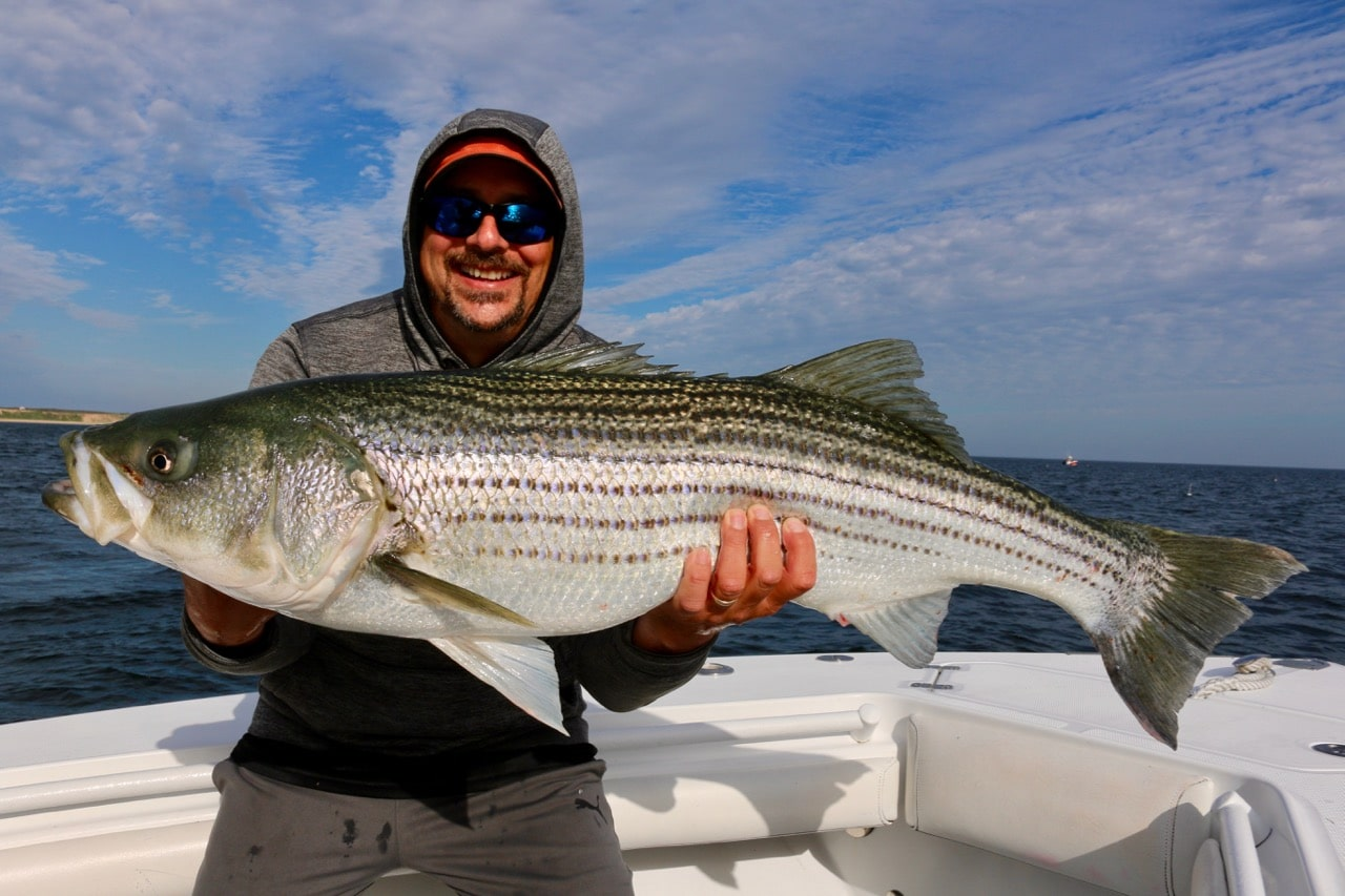 Bobby Rice Cape Cod Striped Bass Fishing Charters