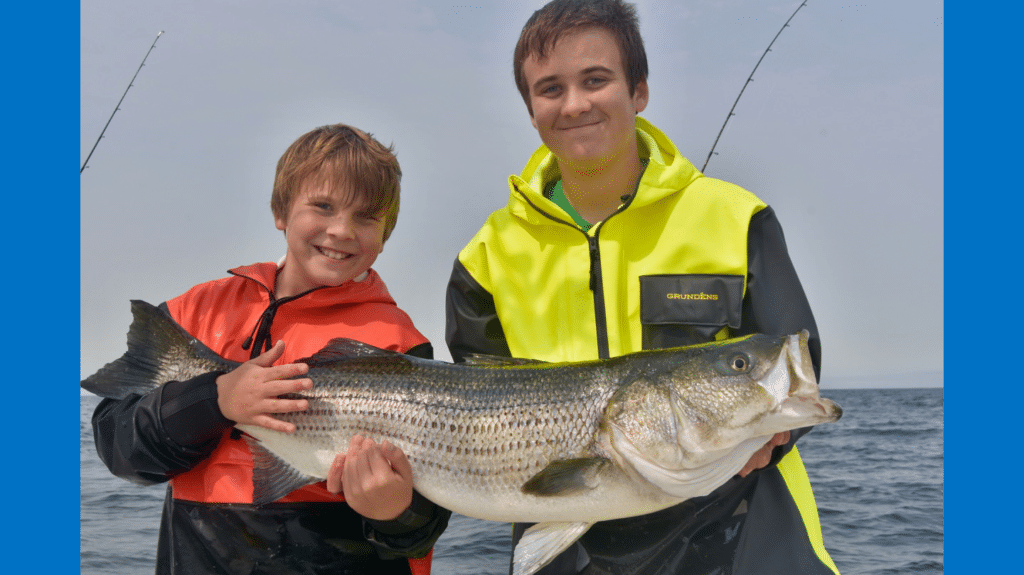 Cape Cod family charter fishing