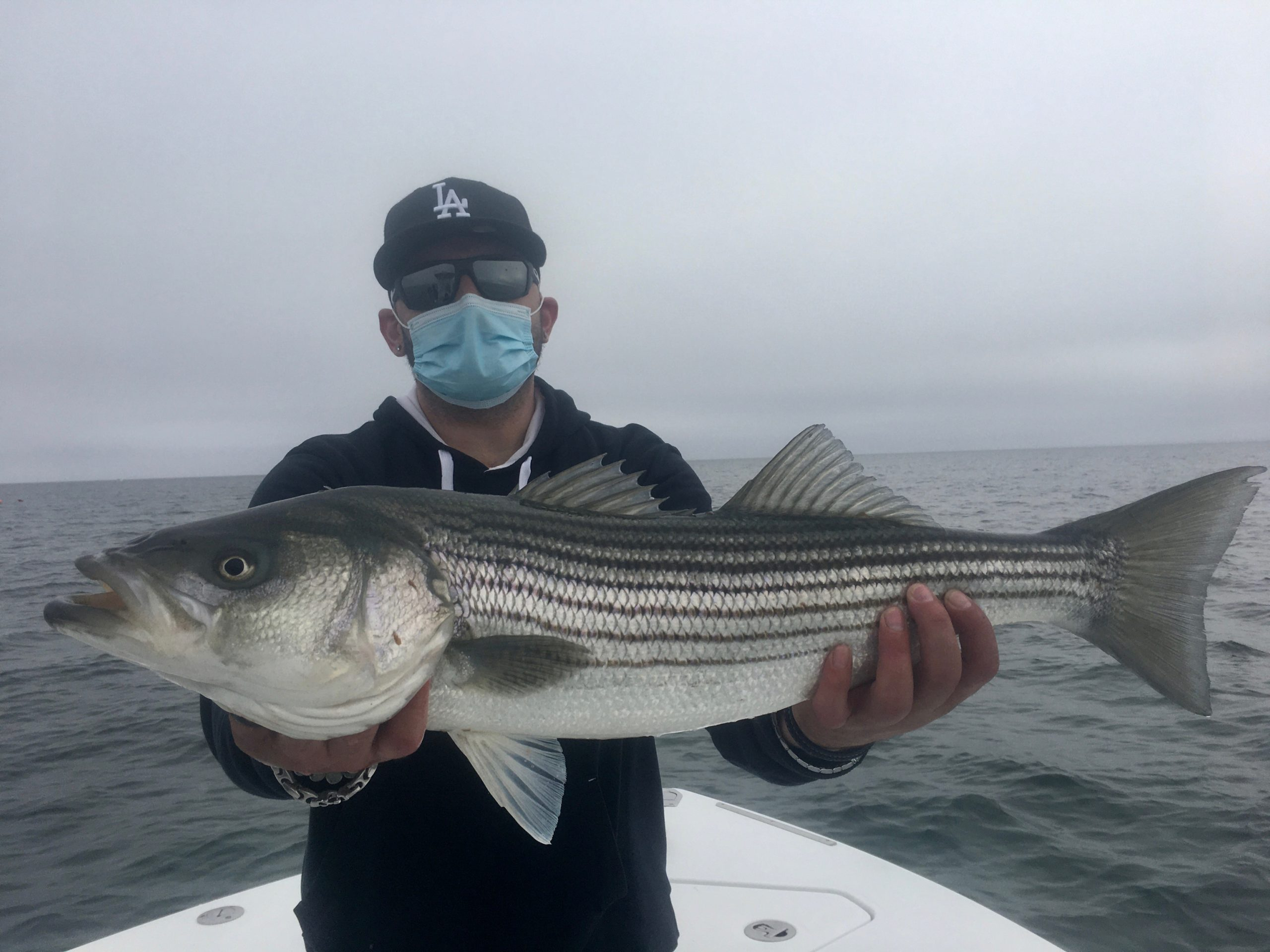 Fishing in Massachusetts Striped Bass
