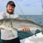 Striped Bass Fishing in Massachusetts